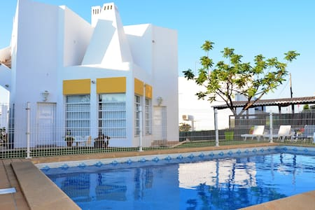 Vila Sto Estevão 7 - piscina privada e parking - 阿爾布費拉