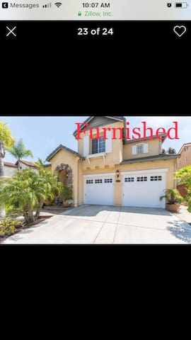 Furnished model home , top of the line appliances,