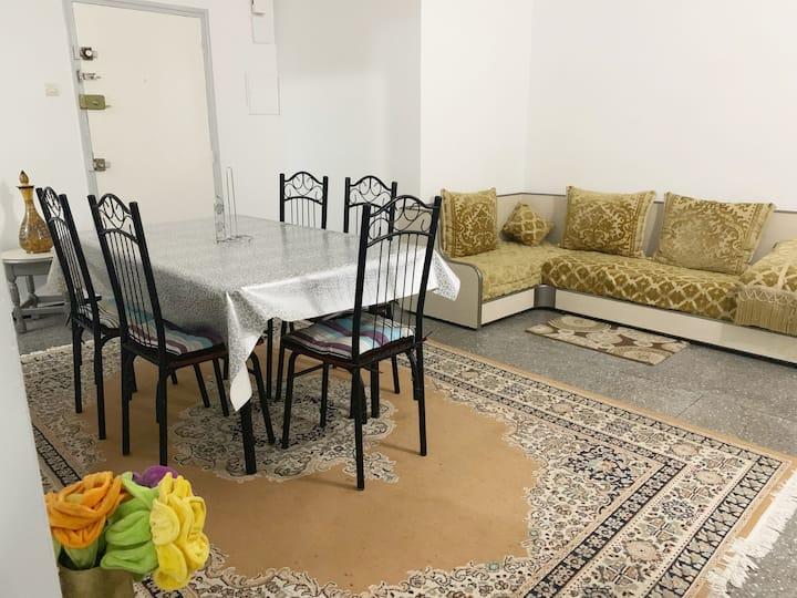 Appartement de 100m2 en plein centre ville Rabat