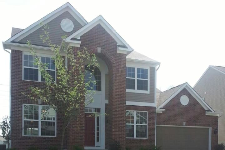 Home in Fishers close to Klipsch Music Center