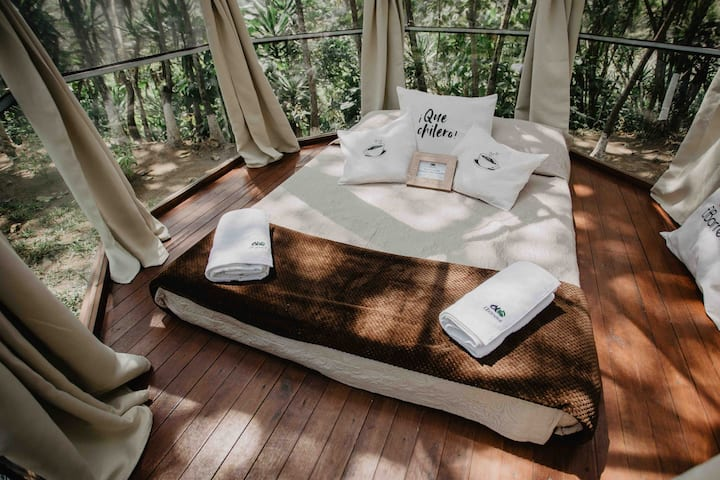 Eco-friendly Glamping - sleep surrounded by nature