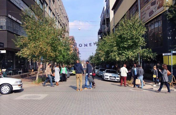 Home away from home in the Maboneng Precinct