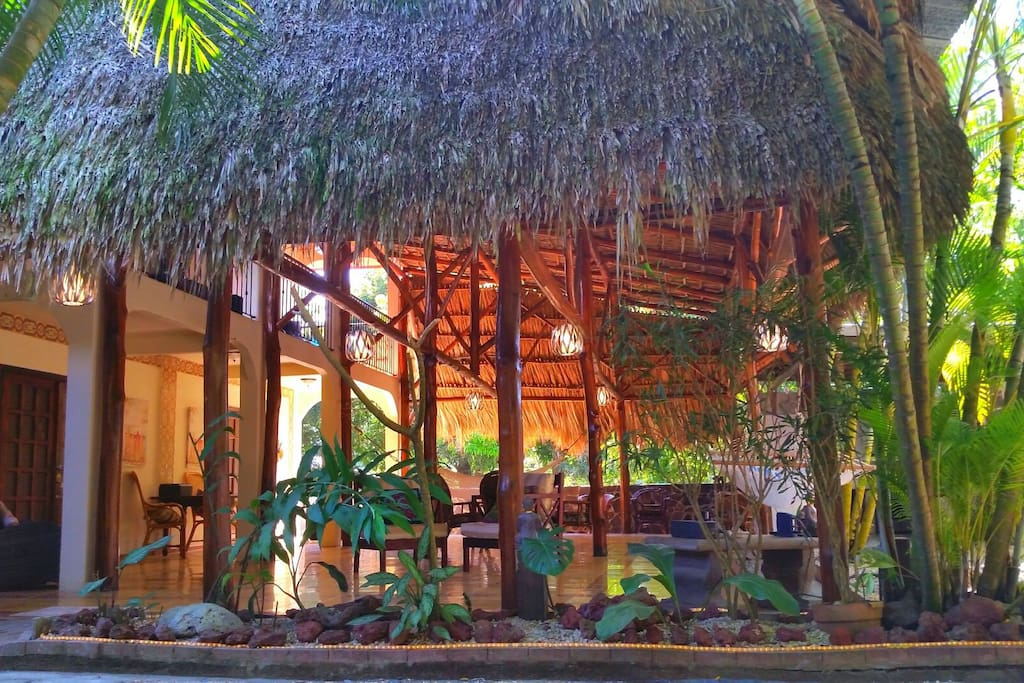 "Teak Boutique Hotel is unique, 1 of a kind private oasis perfect for anyone looking to enjoy the beauty of Costa Rican Open Air Living with the comforts like 4"" Memory Foam KING BED, HIGH END LINENS, Fastest WIFI in the country"