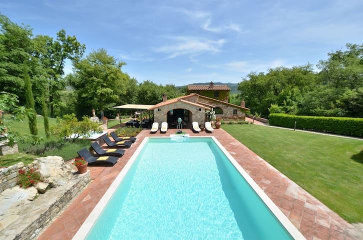 Luxury home in the heart of chianti - Gaiole In Chianti - Villa