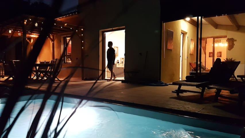 la Vigie Gite panoramique avec piscine