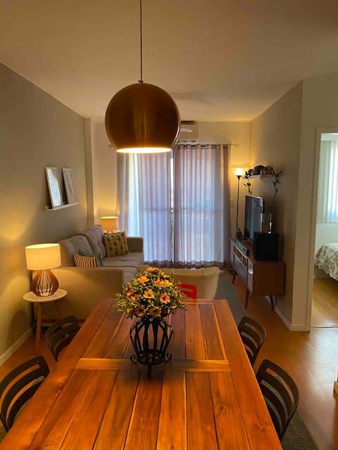 Apartamento acolhedor para você se sentir em casa!