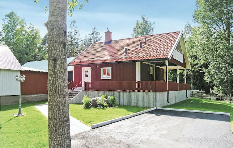 Holiday cottage with 2 bedrooms on 77m² in Kristdala