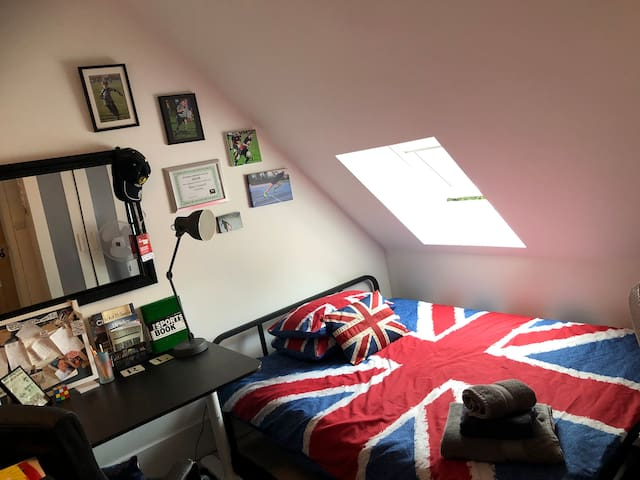 Sporty Room in Quirky House