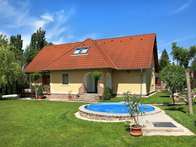 Holiday home in Abrahamhegy for 10 persons