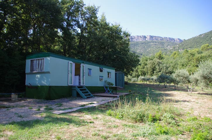 Charmant mobil home en pleine nature