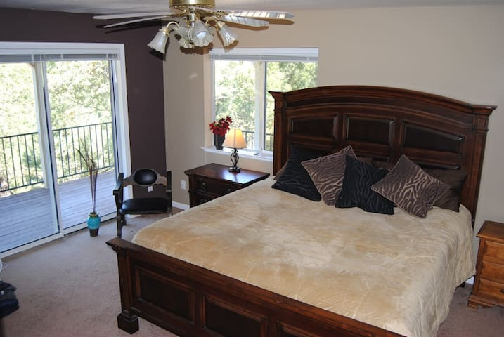 Master Bedroom ~ Private Bath ~ Spectacular View - Foresthill