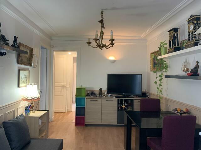 Cozy one bedroom flat near Eiffel Tower