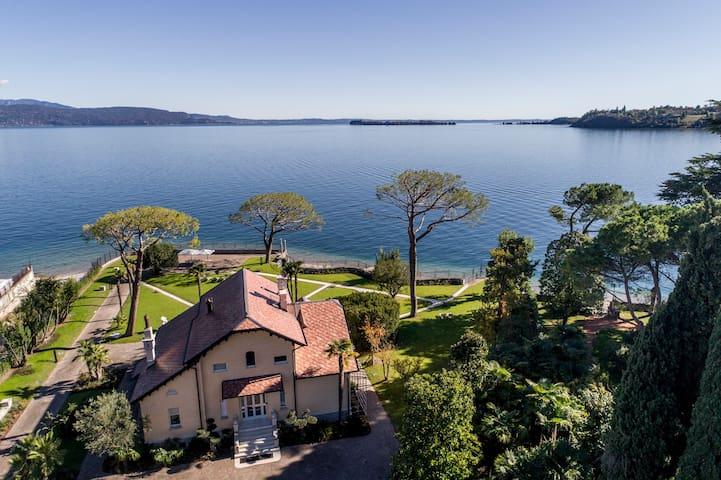 Villa Belvedere - sul lago, spiaggia privata