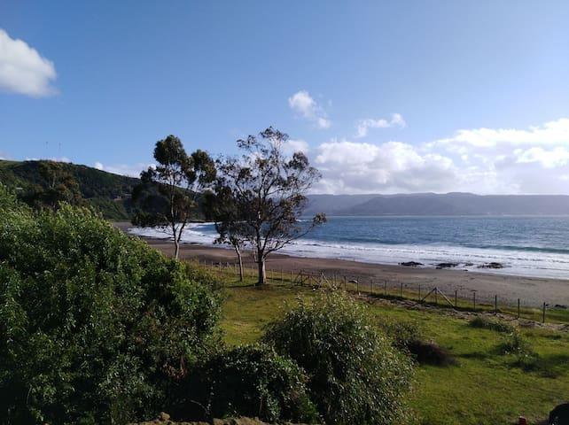 Cabaña equipada con acceso directo a playa