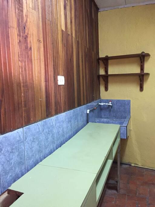 Area para cocinar
