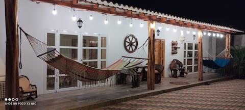 """Ayangue Casa Cómoda Full equipada Cerca del Mar"""