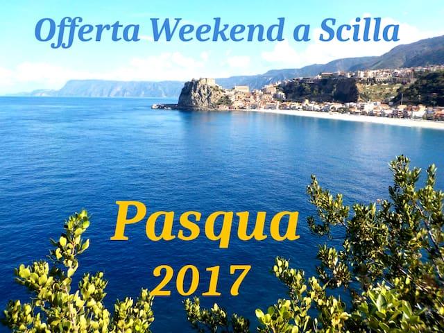 OFFERTA WEEKEND DI PASQUA CAMERA DOPPIA - Scilla - Bed & Breakfast