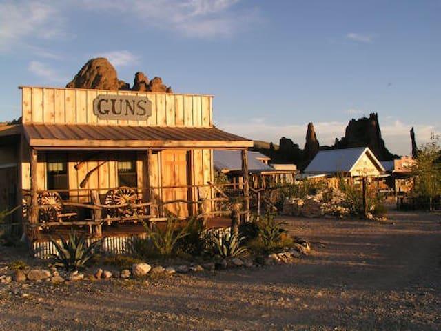 Ten Bits Ranch #3 | Big Bend Lodging - Room #3