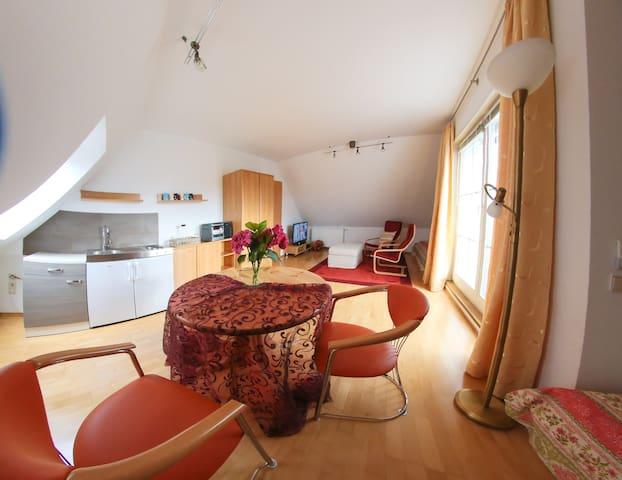 Ruhige DG-Wohnung im Grünen vor den Toren Leipzigs - Naunhof - House