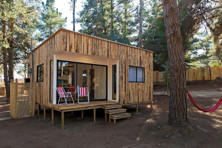 Cabaña para 4 (N), en Casa Tótem - Algarrobo - Casa