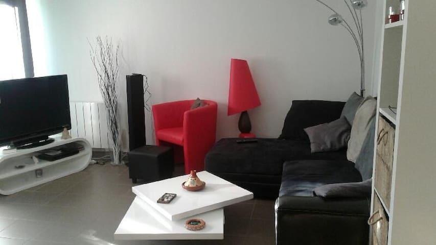Beau T2 au calme - Dijon - Apartamento