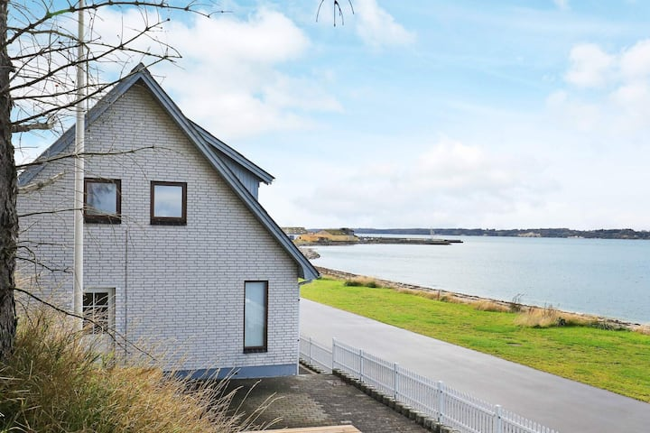 Modern Holiday Home in Farsø with Terrace