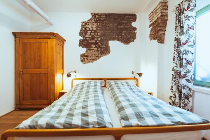 """Doppelzimmer im Grünen """"Countryside double room"""""""
