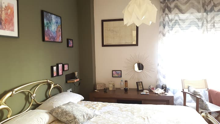 Cozy Doble Room, Private Bathroom & breakfast