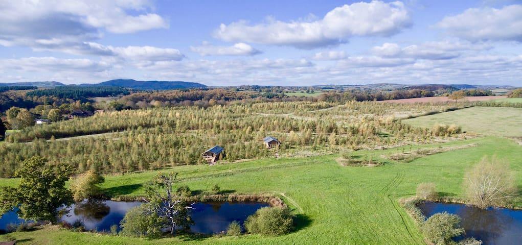 Roebucks Retreat Lodge at Stone Farm Rural Escapes