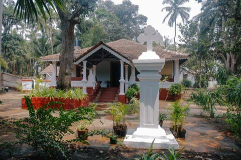 Portuguese Heritage Villa at Arambol