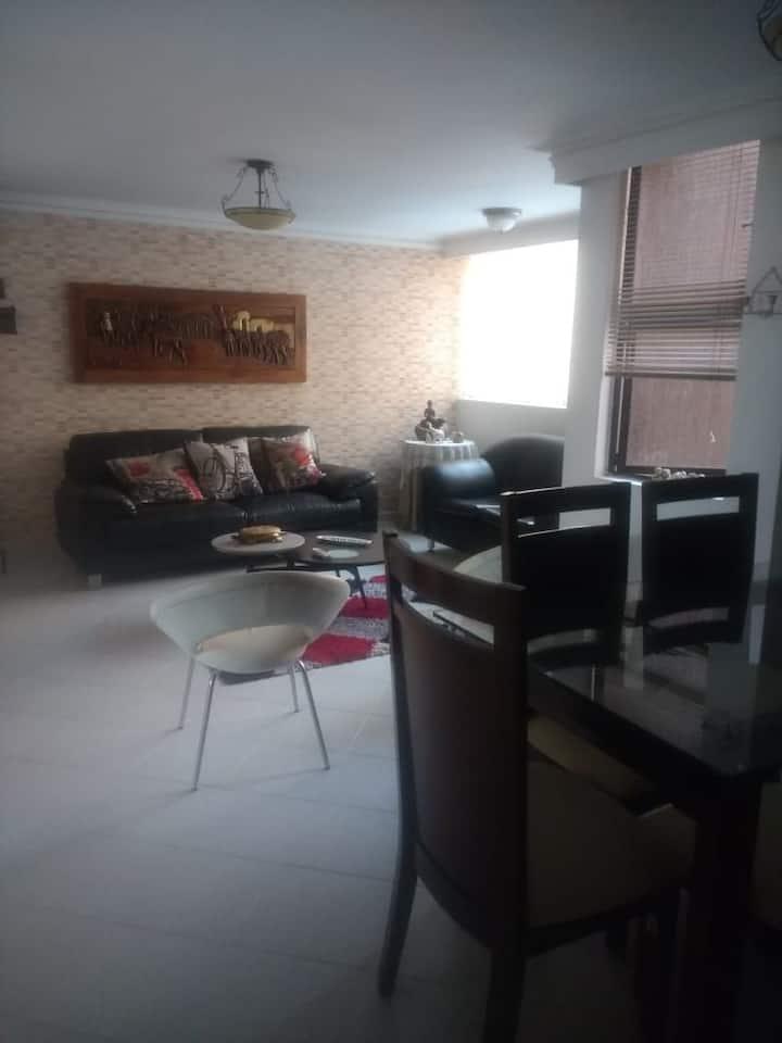 Agradable, cómodas habitaciones y sector tranquilo