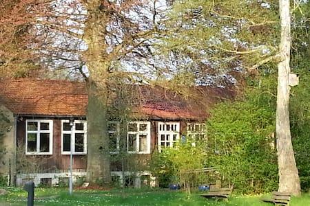 Gästezimmer mit Blick auf das Jagdschloss - Göhrde - Naturstuga