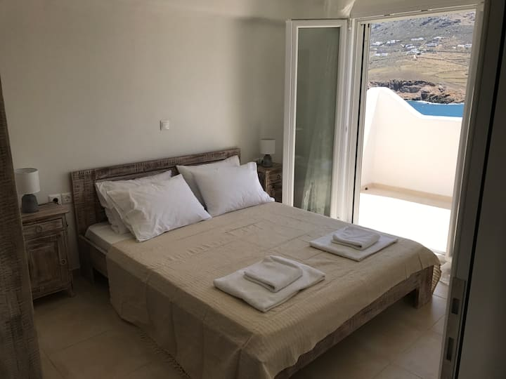 Ftelia Sea Front Penthouse Apartment