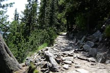 Paths in High Tatras are welcoming.