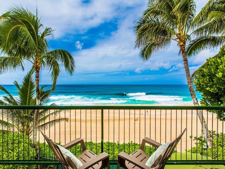 Banzai Pipeline Paradise Home w/Gorgeous Ocean Views & A/C! Pipeline House