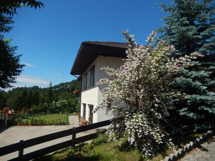 Casetta in Trentino con giardino recintato
