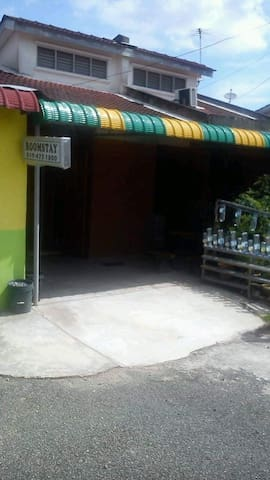 Entrance for Budget Twin Roomstay