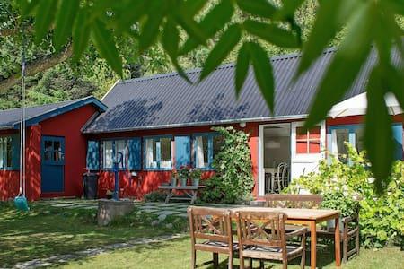 Sfeervol vakantiehuis in Rønne vlak bij het strand
