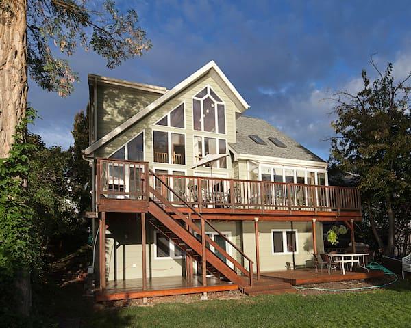 Stunning Waterfront Home on Liberty Lake