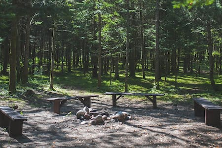 Terrain de camping #1 - Saint-Gabriel-de-Valcartier