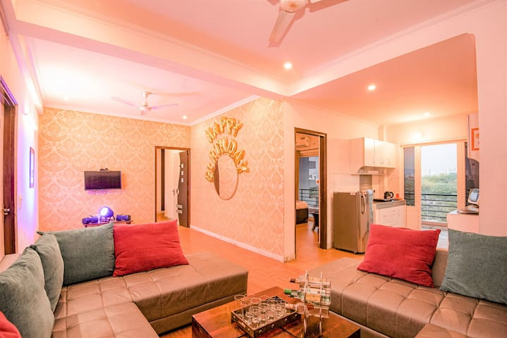 3. Terrace Garden family friends get together 3bhk