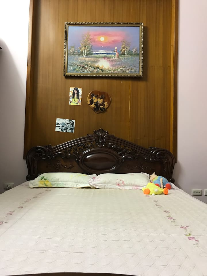 Spacious room with private bathroom in Cau Giay