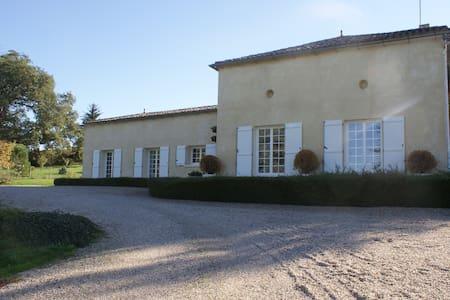 Le Domaine de Vert-bois - Sainte-Radegonde - 산장