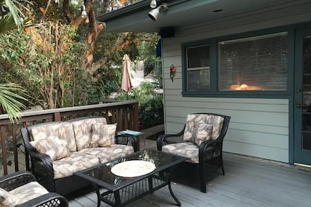 Guest Suite w/ Private Entrance and Secluded Deck