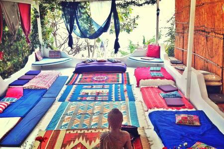 Sanctuary Retreat Private Room 3 - San Marcos La Laguna