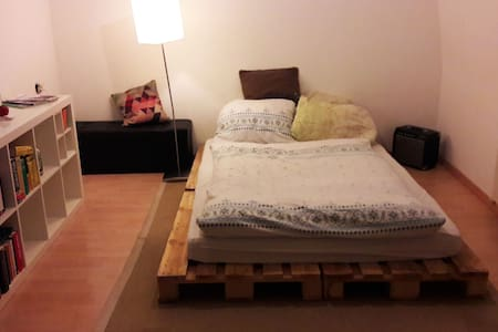 Super central & clean private room in shared flat - Würzburg - Apartamento
