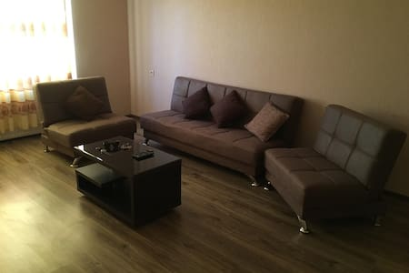 Cozy apartment in a quiet district of the city