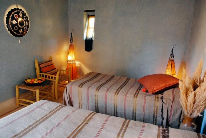 Room Eucalyptus - Riad cascades d'ouzoud