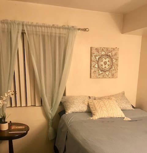 1 bedroom in San Diego.