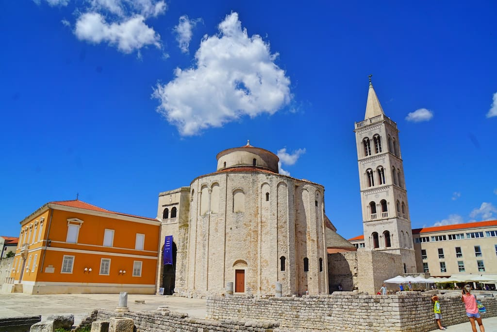Main church in the Zadar